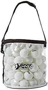 Best Sporting Tischtennisbälle Tischtennis Bälle 40mm , 100 Stück in Tasche,...