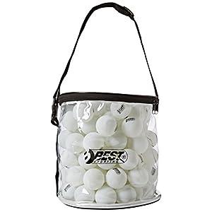 Best Sporting Tischtennisbälle 40 mm, 100 Stück aus PP, in Tasche