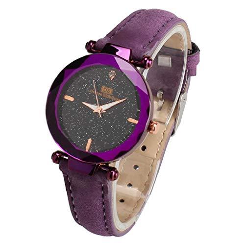 VJGOAL Damen Uhren, Frauen Mädchen Armbanduhr Elegant Einfach Strass Süß Watch Mode Trend Geburtstagsgeschenk