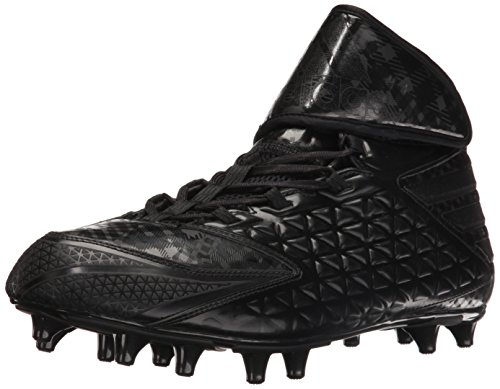 Adidas Freak High Wide, Extra larghezza American Football Scarpe, Freak High Wide, nero, 12 US