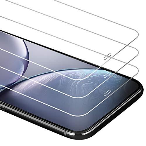 Zloer [3 Pièces] Verre Trempé iPhone XS/iPhone X Film Protection écran [9H Dureté] [sans Bulles,Facile à Installer] pour Protection écran iPhone XS/iPhone X [Garantie de Remplacement à Durée de Vie]