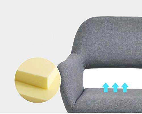 Nwn sedia in legno massello sgabello moderno computer desk chair