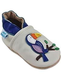 6b35748387f1a Juicy Bumbles Chaussures Bébé - Chaussons Bébé - Chaussons Cuir Souple -  Chaussures Cuir Souple Premiers