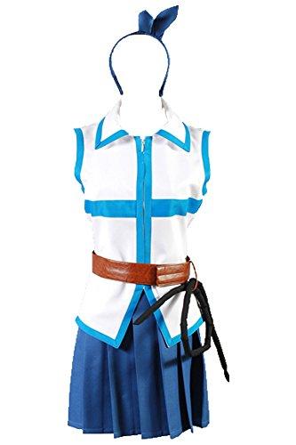Jeylu Fairy Tail Lucy Heartfilia Cosplay Kostüm EU Größe Gr. XX-Large, ()