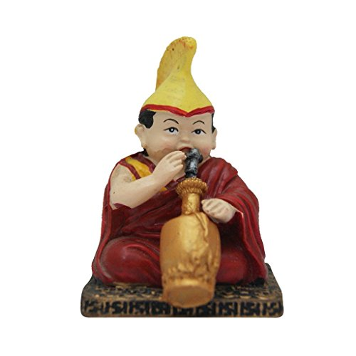 Divya Mantra Chanting Tibetan Monk Showpiece  available at amazon for Rs.299