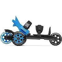 Cardiff Sport uomo Technologies step-in-skate Cruiser Co, Funskate regolabile, colore nero/blu, 36-47,