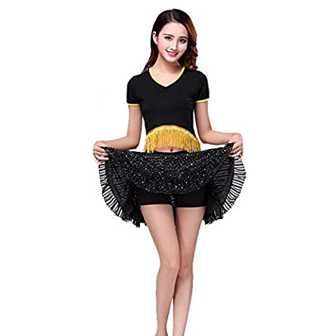 Costumes Black Cheerleader Halloween - Wgwioo Sequin Stage Performance Clothing Women Latin