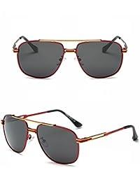 Gafas de Sol Polarizadas Mujeres Gafas de Sol Tipo Gafas de Sol Marco de Oro Rojo