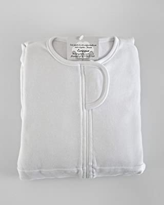 Sábana Fantasma cuna 60cm x 120cm - la sábana de seguridad original (BLANCO)