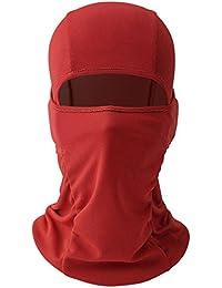 3faa760f543 Cagoule Tour de Cou Masque pour Motard Cycliste Eté Respirant Unisexe  Protection Nez Bouche Oreilles Cou