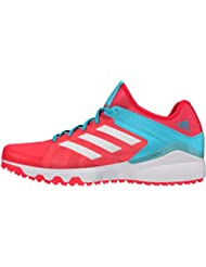 adidas deporte ultra ligero snug Fit Zapatillas de en plata de Hockey estilo Lux, rosa, 3,5