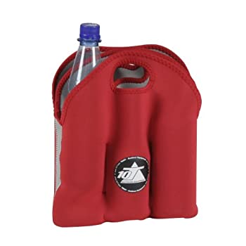 10t Outdoor Equipment 10t Cooler 6 X 500ml Neopren Dosenkühler Flaschenkühler Kühler Getränkekühler Kühltasche Mit Tragegriff 8