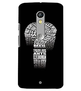 MOTOROLA MOTO X PLAY QUESTION MARK Back Cover by PRINTSWAG