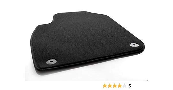 Kh Teile Fußmatte Velours Passend Für A6 S6 Rs6 C5 4b Premium Qualität Autoteppich Schwarz Fahrermatte Auto