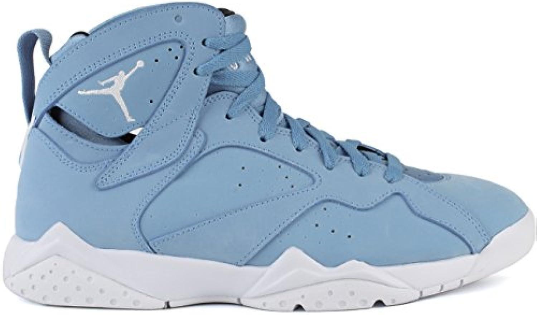 Jordan Men's Air 7 Retro  University Blue/White White Black