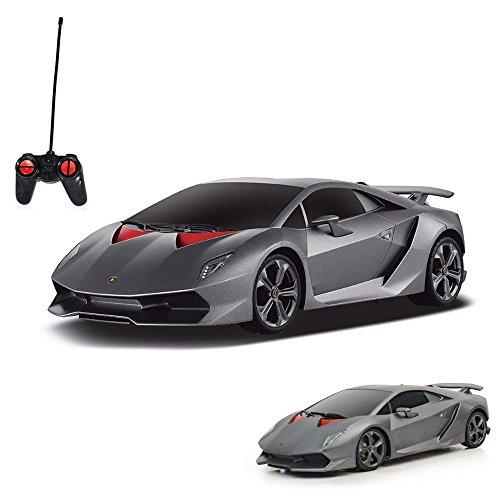 HSP Himoto Lamborghini Sesto Elemento - RC ferngesteuertes Lizenz-Fahrzeug im Original-Design, Modell-Maßstab 1:24, Ready-to-Drive inkl. Fernsteuerung