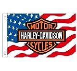 H&D Harley Davidson Fahne