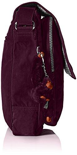 Kipling Damen Netta Umhängetaschen, 23.5x29x9 cm Violett (34Z Plum Purple)
