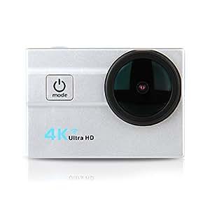 "Excelvan Q6H - Action Cam WiFi 4K 25FPS FHD 1080P 173 ° Grandangolare 2.0"" Schermo LCD Impermeabile Sports Camera Fotocamera Videocamera Digitale Cam Video Car DVR"