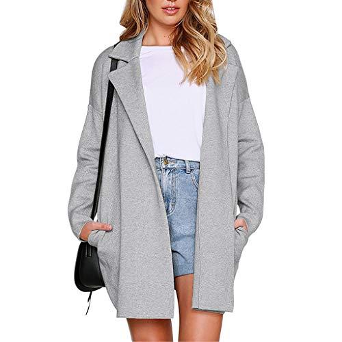Femme Blouson à Manches Longues Manteau Veste Sweat-Shirt À Capuche Mode Tops Blouse, QinMM Imprimé léopard T-Shirts à Capuche zippés à la Mode