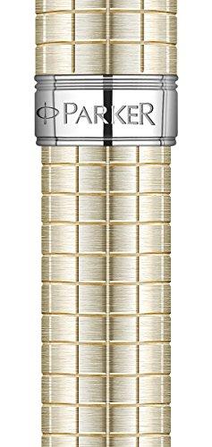Parker Sonnet Medium Point Chrome Trim Ballpoint Pen - Sterling Silver
