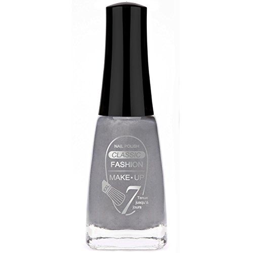 Vernis à Ongles - Gris - 11 ml - Fashion Make Up Cosmétique Onglerie