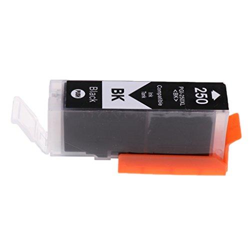 Sharplace ABS Tinte Patronen Kit 250XL Ersetzen Druckerpatrone Tintenpatrone für Canon Pixma ip7220 MG5420 MX922 MG6320 -Schwarz Farbe (Für Mx922 Canon Tintenpatronen)