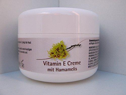 Vitamin E Creme mit Hamamelis 100 ml (Hautpflege Vitamine)