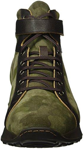 Karl Lagerfeld Sneaker-Herren, Baskets Basses Homme Vert - Grün (oliv 50)