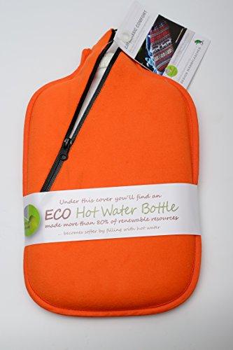 Hugo Frosch Wärmflasche orange Größe 19x31 cm