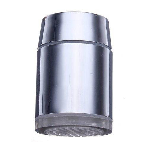 Bluelover 7 Farbdisplay Verändernden LED Wasserhahn Farbwechsel Wasser WasserhahnLicht Silber -