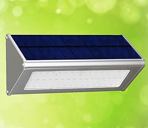 LED Solarleuchten,SGODDE 4 Intelligente Modi 48 LED Solarlampe Wetterfeste Bewegungssensor Solar Lampe für Garten, Patio, Auffahrt,Treppe ,im Freien usw.