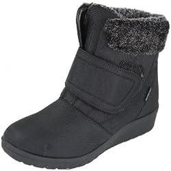 Cushion Walk Thermo-Tex - Botas de invierno para mujer, color marrón, color negro, talla 40