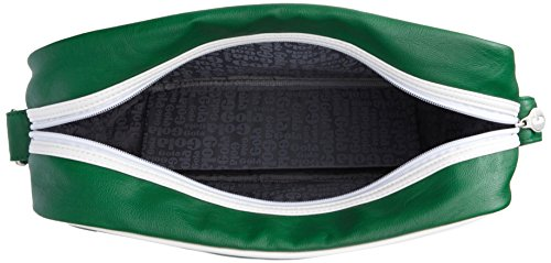 Gola - Harnell, Borsa Messenger Unisex - Adulto Verde (Green (Navy/Red/White))