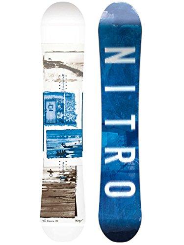Nitro Snowboards Herren Team Exposure GULLWING`18 Snowboard Grafik 152