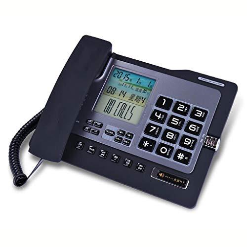 Telefon Station Caller Id Display Stimme Bericht Wired Office Home und Kreative Festen Telefon