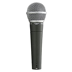 PylePro PDMIC58 Professional Dynamic Microphone, Black