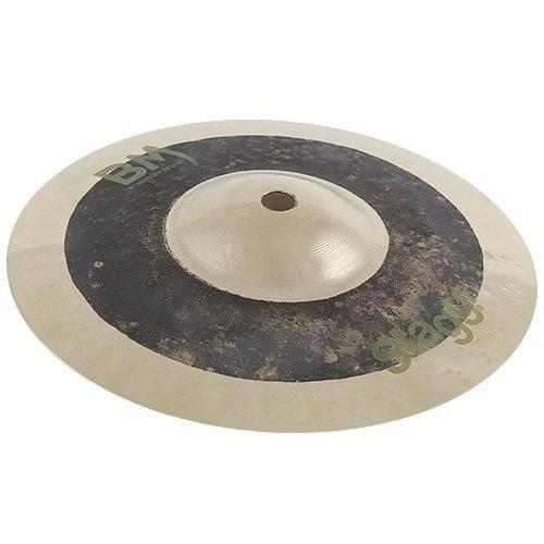 Stagg 25014254 BM-SM8 Metal Splash Cymbal 20,32 cm (8 Zoll) Medium schwarz