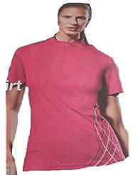 Unidad de mujer Camiseta Rosa Varios. tamaños
