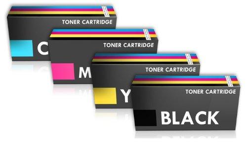 Prestige Cartridge 508X 4 Tóners Alta Capacidad (Negro: 12500 Páginas & Cian/Magenta/Amarillo: 9500 Páginas) compatibles para HP Laserjet Enterprise M552dn M553n M553dn M553x MFP M577dn M577f M577c