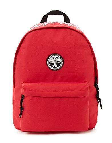 Napapijri HAPPY DAY PACK Zaino Casual, 42 cm, 20 liters, Rosso (Pop Red)