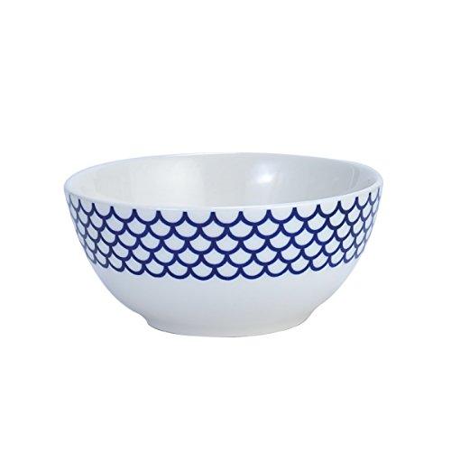 Mikasa Lavina White Cereal Bowl, 5.75-Inch -