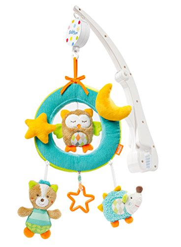 Babysun Sleeping Forest Mobile Musical de Voyage, Bleu