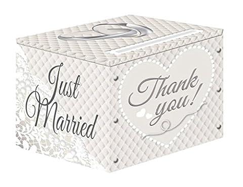 NEU Sammel-Box Hochzeit, weiß, 1 Stück