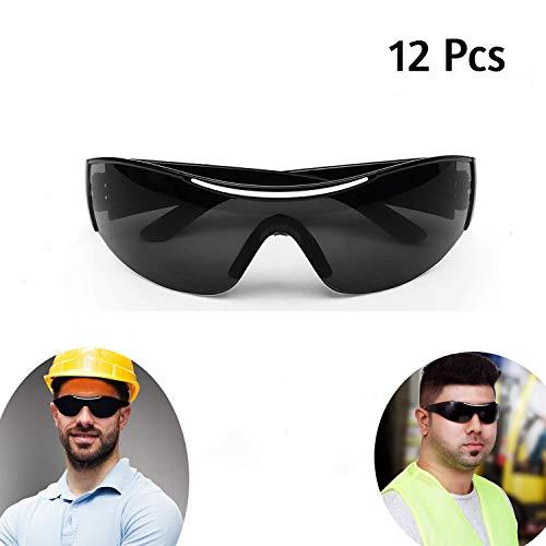 Gafas Sol Negras - 12 Pcs Gafas Seguridad Negras
