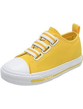 Los zapatos de la manera de la zapatilla de deporte de la lona de las muchachas de los niños atan para arriba...