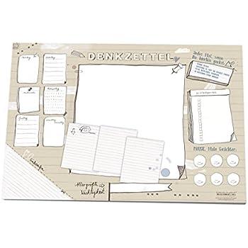 schreibtischunterlage aus papier zum abrei en mit to do. Black Bedroom Furniture Sets. Home Design Ideas