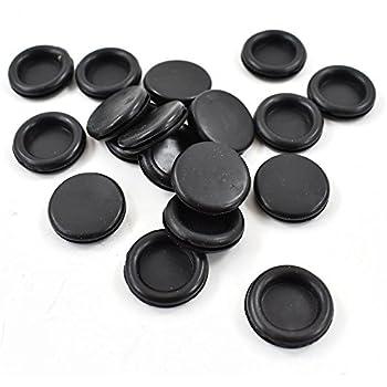 10x Blanking Grommets Rubber Grommet Closed Gromet Blind Plug Bung Bungs