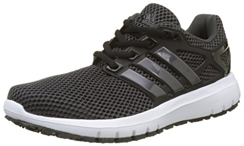 adidas Women's Energy Cloud Competition Running Shoes, Black (Utility Black/Trace Grey Metallic/Core...