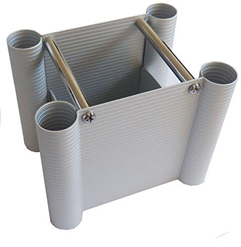 Köcher für Stifte aus hochwertigem Aluminium stabil verschraubt von Rumold